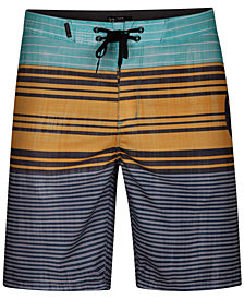 "Hurley Men's Strands Stripe 20"" Board Shorts"