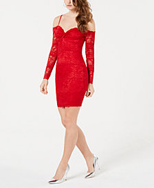 GUESS Gabbie Lace Bodycon Dress