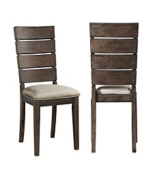 Murphy Slat Back Side Chair Set