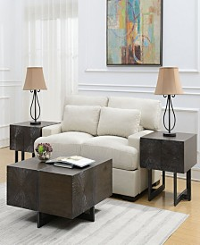 Elliot III Piece Occasional Table Set