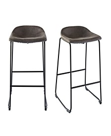 Galloway Metal Bar Stool Set