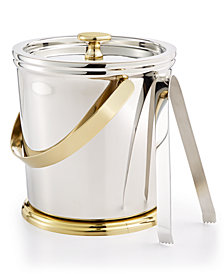 Martha Stewart Collection Pewter Ice Bucket, Created for Macy's