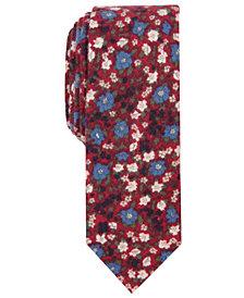 Penguin Men's Andras Skinny Floral Tie
