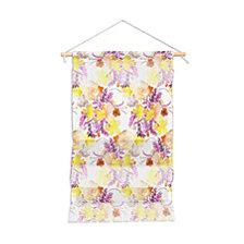 "Deny Designs Ninola Design Flowers Sweet Bloom Yellow Wall Hanging Portrait, 11""x16"""