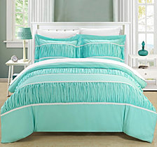 Chic Home Betsy 7-Pc. Queen Duvet Sets