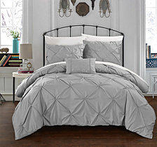 Chic Home Daya 8 Pc Queen Duvet Set