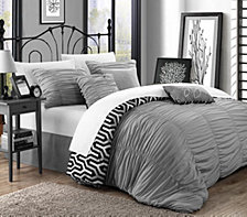 Chic Home Elissa 7 Pc Queen Reversible Duvet Cover