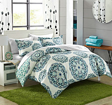 Chic Home Ibiza 7 Piece King Bed In a Bag Duvet Set
