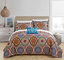 Chic Home Malka 8 Pc Queen Quilt Set