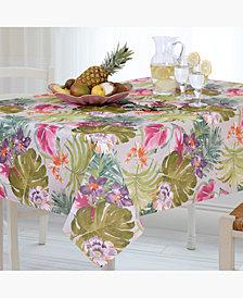 Elrene Kona Tropics Indoor/Outdoor Tablecloth Collection
