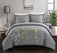 Chic Home Kaylee 7 Pc Queen  Duvet Set