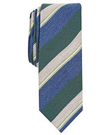 Penguin Men's Lykken Stripe Skinny Tie