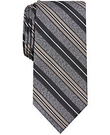 Nautica Men's Waterford Slim Stripe Tie