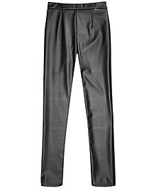GUESS Big Girls Faux Leather Leggings