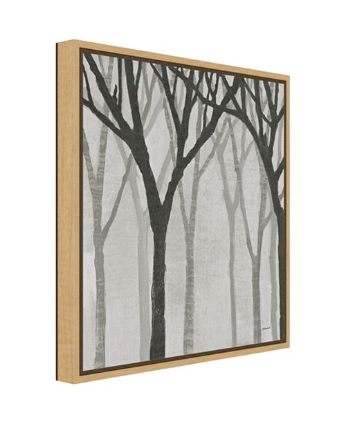 Amanti Art Spring Trees Greystone I by Kathrine Lovell Canvas Framed ...