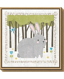 Amanti Art Woodland Hideaway Bunny by Moira Hershey Canvas Framed Art