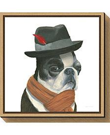 Amanti Art The Boys VIII Dog by Myles Sullivan Canvas Framed Art