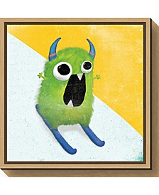 Xtreme Monsters II by Sarah Adams Canvas Framed Art