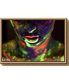 Alices World by Dogan Kokdemir Canvas Framed Art
