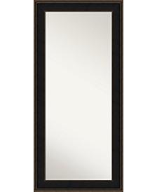 Mezzanine Wood 32x68 Floor-Leaner Mirror