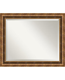 Amanti Art Manhattan 33x27 Bathroom Mirror