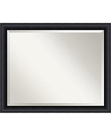 Amanti Art Nero 31x25 Bathroom Mirror