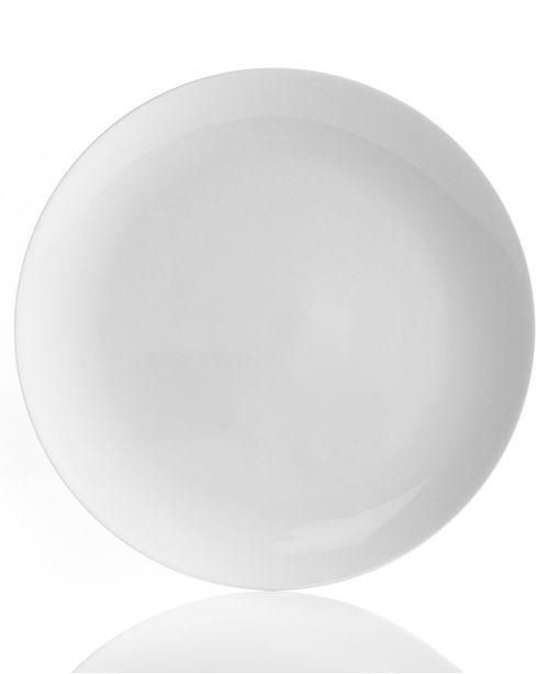 Hotel Collection Plates: Hotel Collection Dinnerware, Bone China Coupe Dinner Plate