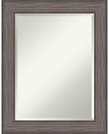 Country Barnwood 23x29 Bathroom Mirror