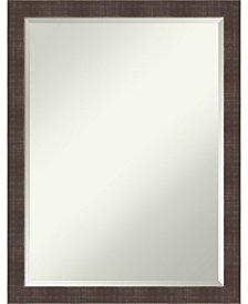 Amanti Art Whiskey Rustic 20x26 Bathroom Mirror