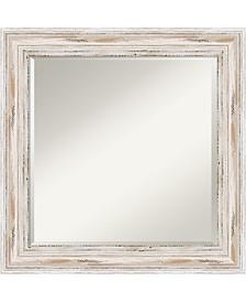 Amanti Art Alexandria 25x25 Wall Mirror