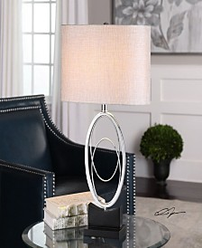 Uttermost Savant Polished Nickel Table Lamp