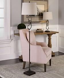 Uttermost Tenley Twisted Bronze Floor Lamp