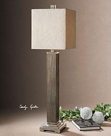 Uttermost Sandberg Wood Buffet Lamp