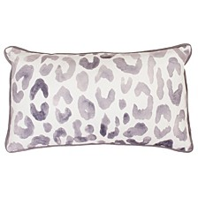 "Miron Cheetah Velvet Pillow, 12"" x 20"""
