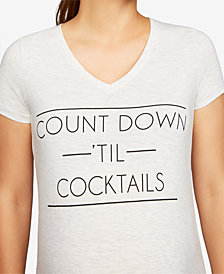 A Pea In The Pod Countdown 'Til Cocktails Maternity Graphic Tee