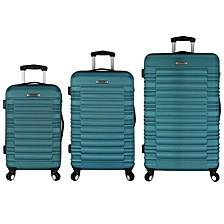 Tustin 3PC Hardside Spinner Luggage Set