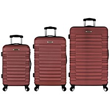 Tustin 3PC Hardside Spinner Luggage Set