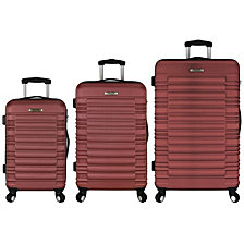 Elite Luggage Tustin 3PC Hardside Spinner Luggage Set