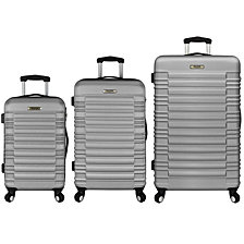 Elite Luggage - Tustin 3-Piece Hardside Spinner Luggage Set
