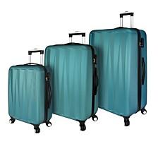 Elite Luggage -Verdugo 3PC Hardside Luggage Spinner Set