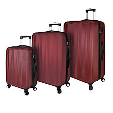 Traveler's Choice Elite Luggage - Verdugo Hardside 3-Piece Spinner Luggage Set