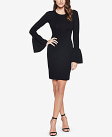 Bardot Bell-Sleeve Sheath Dress