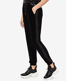 MICHAEL Michael Kors Velvet Tuxedo Track Pants