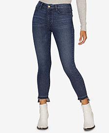 Sanctuary Social Standard Step-Hem Skinny Jeans