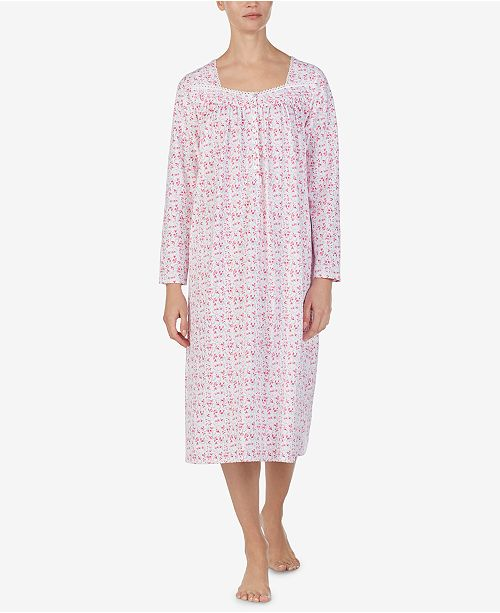 217649352a ... Eileen West Cotton Knit Ballet-Length Nightgown ...