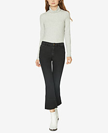 Sanctuary Cropped Raw-Hem Jeans