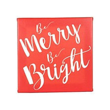 Cathys Concepts Merry and Bright Gallery Wrapped Canvas