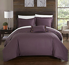 Chic Home Hartford 3 Pc Twin Duvet Cover Set