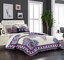 Chic Home Ronan 4 Pc Queen Duvet Cover Set
