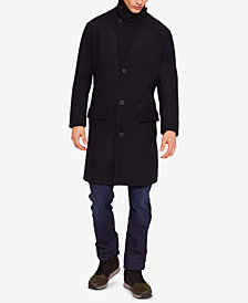 A|X Armani Exchange Men's Single Breasted Wool Coat